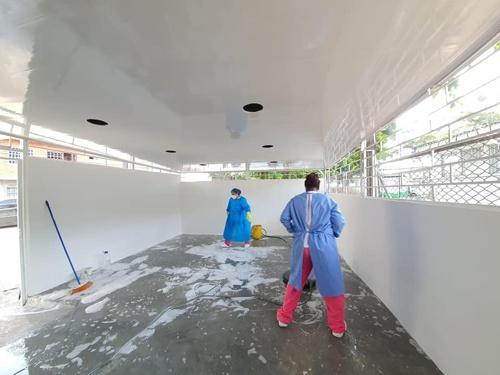 Remodelan y adecuan instalaciones del hospital de Puerto Tejada.