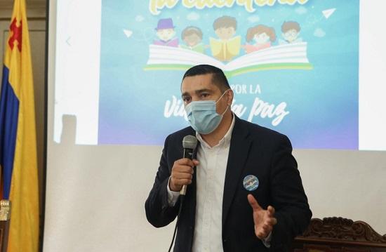 Secretario de Educación Departamental del Cauca - Jorge Octavio Guzmán
