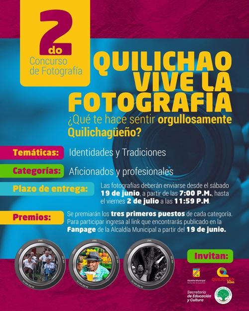 ¡Participa en el concurso de fotografía de Quilichao!