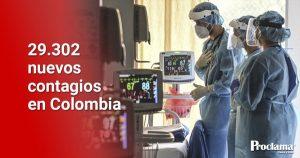 Tragedia en Colombia: Coronavirus mató a 573 personas