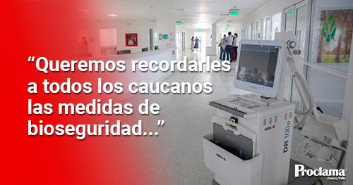 Se declara Alerta Roja Hospitalaria en el Cauca por ocupación UCI superior al 85%