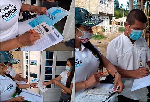 Secretaría de Salud verifica y acompaña esquema de vacunación de los niños de Popayán
