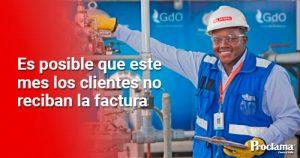 Gases de Occidente informa sobre entrega de facturas de gas natural
