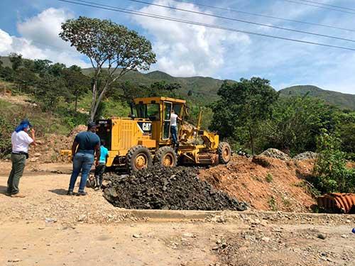 Avanza la transitabilidad del corredor alterno en el Cauca