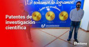 Unicomfacauca trabaja en el desarrollo de diversas patentes