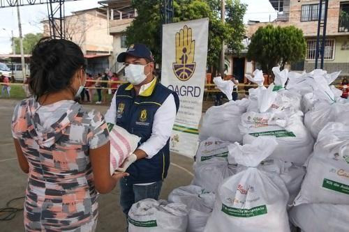 'Cauca está contigo' realiza entregas de asistencia alimentaria en Popayán