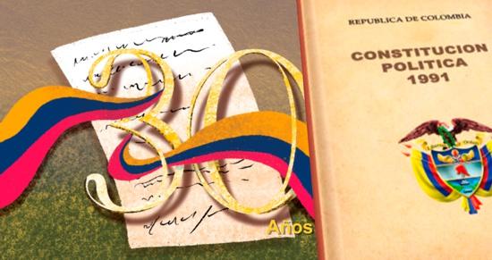 30 años de la Constitución Política de Colombia