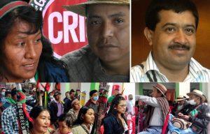 Autoridades Indígenas escogen su candidato al Senado