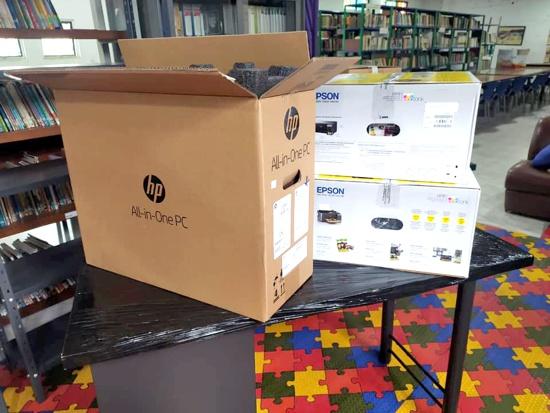 Bibliotecas de Puerto Tejada recibieron dotación de la Alcaldía