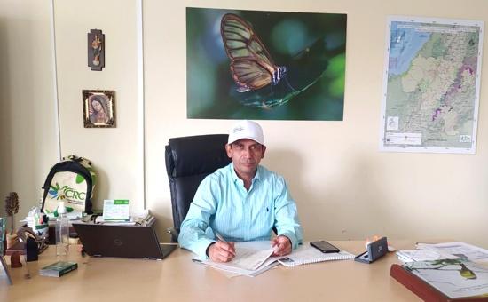 CRC fortalece su accionar ambiental en la capital caucana - Yesid González Duque - director