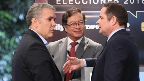 Cambio de mando para el 2022 - Iván Duque - Gustavo Petro - Germán Vargas Lleras