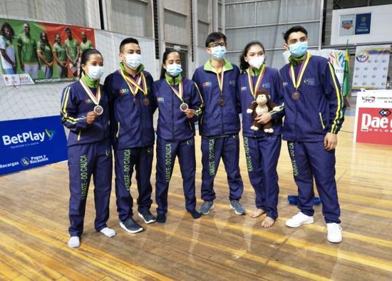 Cauca imbatible en inicio del Torneo Nacional Interligas de Karate