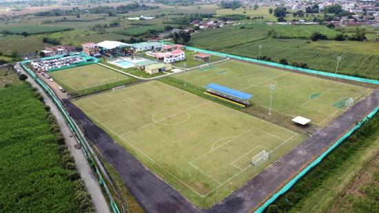 Inauguran Complejo Deportivo Yerry Mina en Guachené