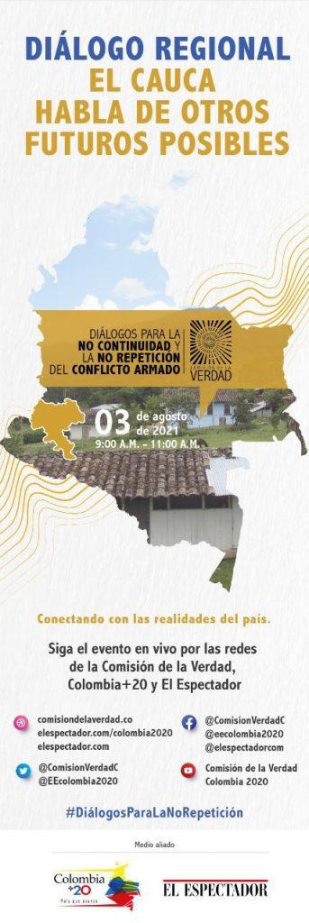 Deuda histórica con las víctimas del Cauca