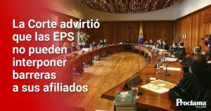 EPS deben prestar servicios a domicilio a sus afiliados