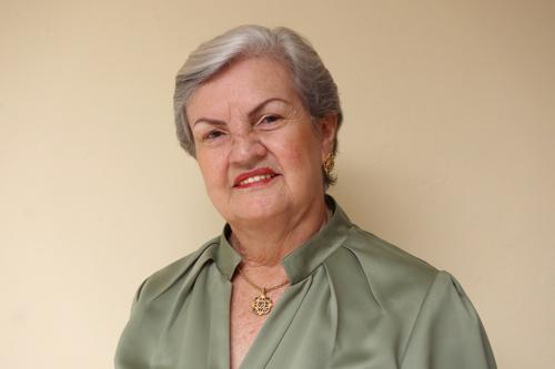 Evelyn Gehú de Velasco, directora de la Institución Educativa Niño Jesús de Praga