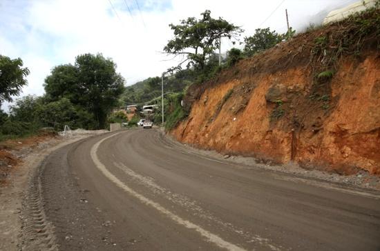 Inicia pavimentación de un tramo de la vía Balboa-Argelia