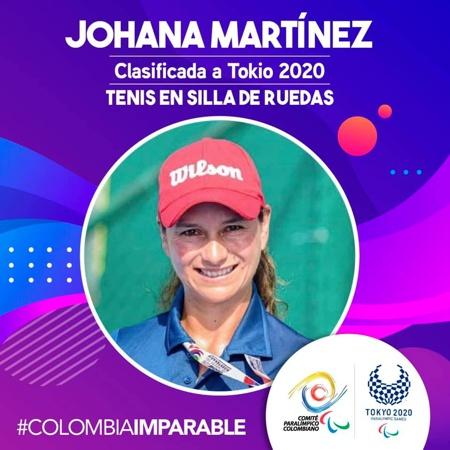 Johana Martínez - Campeona de Tenis en Silla de Ruedas
