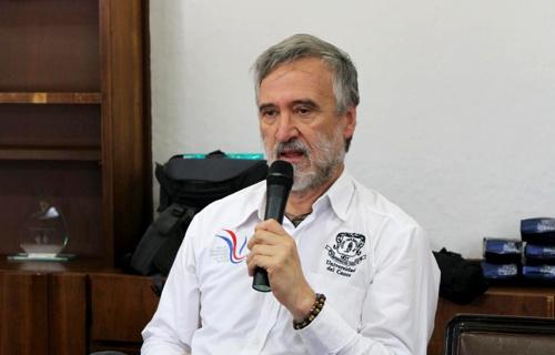 José Luis Diago Franco, rector Universidad del Cauca