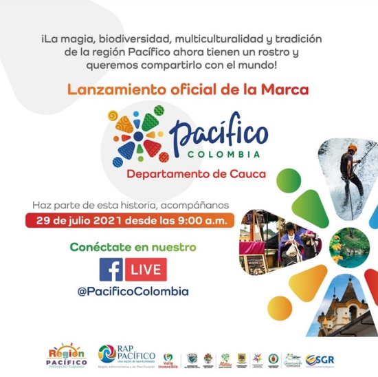 Lanzamiento oficial de la marca Pacífico Colombia