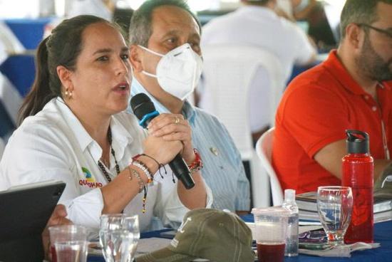 Lucy Amparo Guzmán - Alcaldesa de Santander de Quilichao