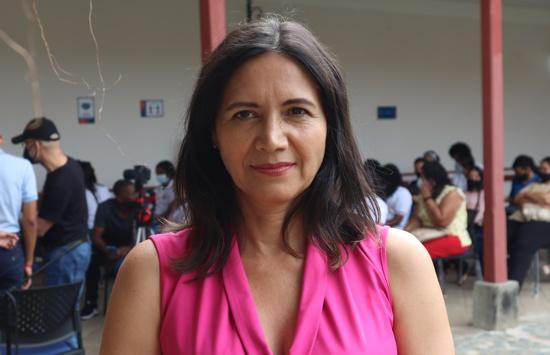 María Victoria Villamil, directora del Centro de Memoria Municipal