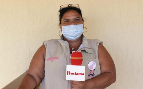 Maritza Raigosa, integrante de la Asociación AMEC, de Corinto
