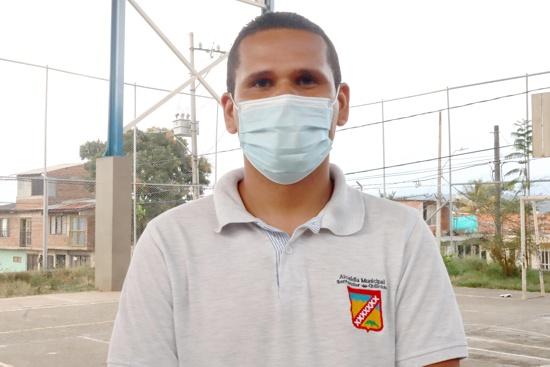Mauricio Reina, funcionario de la Alcaldía de Santander de Quilichao