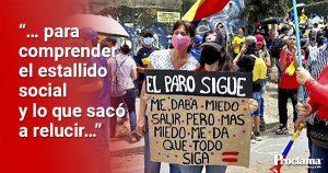 ¿Qué nos mostró el estallido social en Colombia?