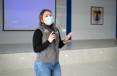 Julieth Bastidas, secretaria de Educación Municipal de Popayán