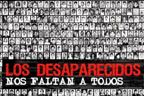 ¿Dónde están los desaparecidos?