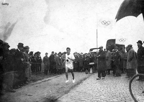 El imbatible 'récord' olímpico del japonés Kanaguri en maratón: 54 años y 8 meses