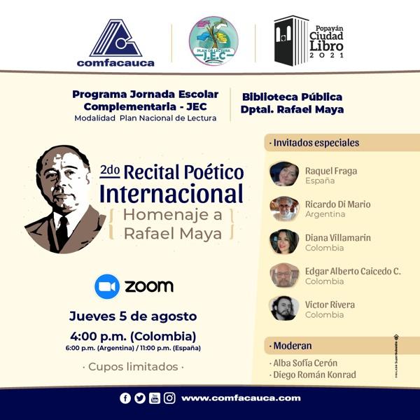II RECITAL POÉTICO INTERNACIONAL