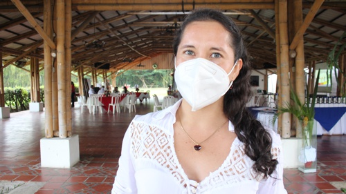 Lyanne Orozco, coordinadora de Promoción y Desarrollo de la Cámara de Comercio del Cauca