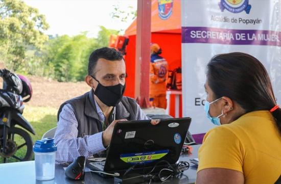 Administración Municipal beneficia cerca de 200 niños de La Rejoya con Miniferia de Servicios