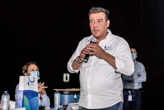 Omar Serrano Rueda, gerente general de la Compañía Energética de Occidente