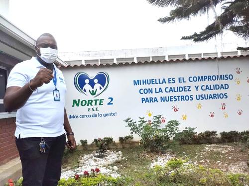 Oscar Eduardo Angola Lasso, gerente de la ESE Norte 2