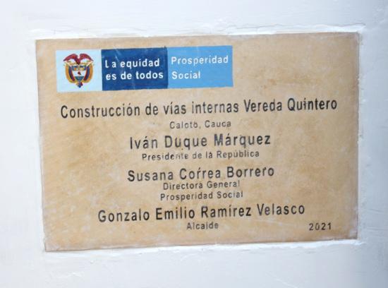 ¡Se inauguró la obra más importante de Caloto en los últimos 10 años!