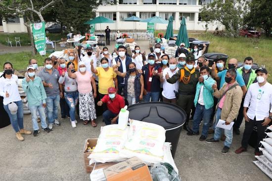 5.300 millones para el fortalecimiento de la cadena del aguacate hass en el Cauca