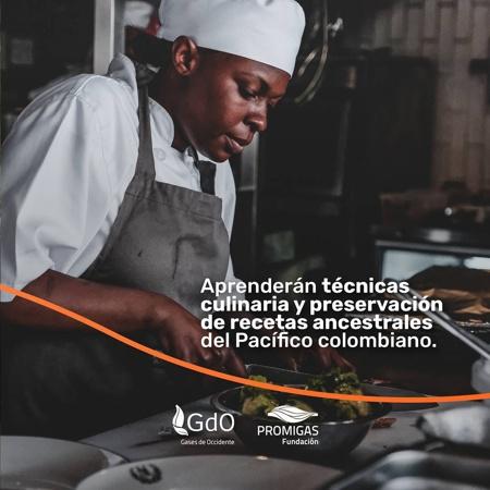 Abren programa de cocina para jóvenes en Buenaventura - Cocina para todos en 5 datos