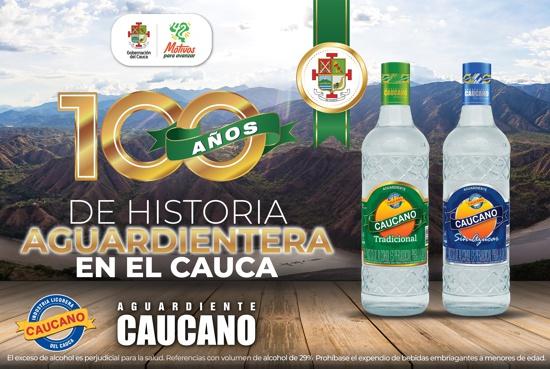 Aguardiente Caucano, 100 años de historia y excelencia