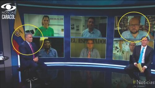 Censura al Periodismo en Colombia