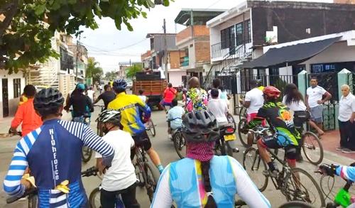 Ciclopaseos para reactivar el deporte en Puerto Tejada