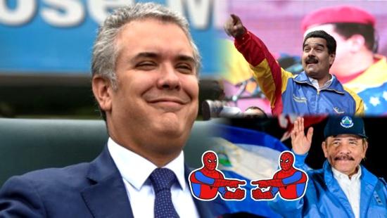Colombia igual que Venezuela y Nicaragua