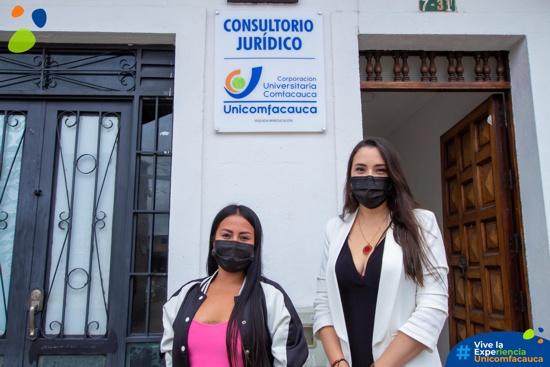 Consultorio Jurídico de Unicomfacauca abre nuevamente sus puertas