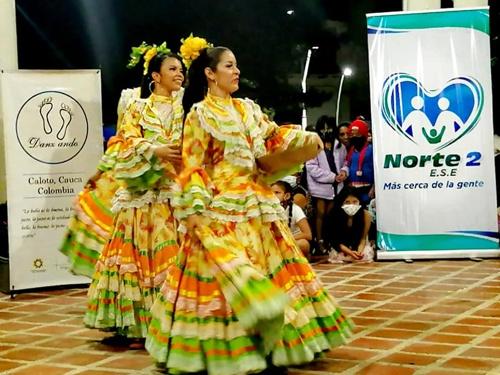 ESE Norte 2 apoyó festividades de la Niña María de Caloto y Festival de Danzas