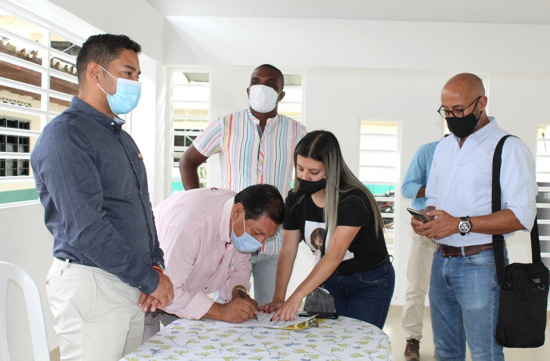 El comedor de la I.E. Juan Ignacio en Villa Rica es una realidad