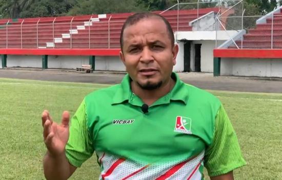 Eliécer Larrahondo Gallo, director del Instituto Municipal del Deporte y la Recreación IMDER de Puerto Tejada
