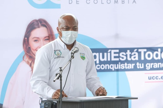 Elmer Abonía, alcalde de Guachené