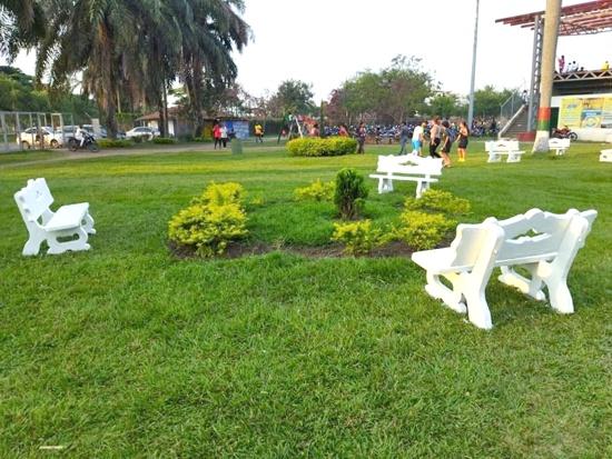 Embellecimiento de la Villa Olímpica en Puerto Tejada